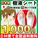 ◆【DM便・全国送料無料】《安心の日本製》 携帯用 足裏樹液シート (101050)《フット