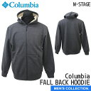 【コロンビア】Columbia FALL BACK HOODIE Black(010)(コロンビア フォール バック フーディー)紫外線対策/UPF50/アウタージャケット/パーカー/防風/フェイスマスク[メンズサイズ]