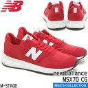 【new balance】ニューバランス MSX70 CG 幅:D TEAM RED X70 ランニング クラシック ユニセックス メンズサイズ FRESH FOAM 赤