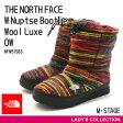 【ノースフェイス】THE NORTH FACE W Nuptse Bootie Wool Luxe(W ヌプシ ブーティー ウール ラックス) NFW51583 OW(オレンジミックスウール) レディース ウィンターブーツ[23-25cm]【送料無料】