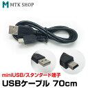 USBケーブル (USB01) 約70cm USB端子