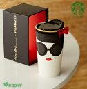 Starbucks スターバックスalice + olivia(アリス アンド オリビア)+スタバ マグカップ355ml(12oz)、ギフト包装発送