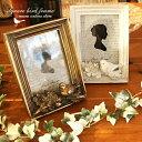 フォトフレーム 写真立て 結婚祝い シャビーシック スクエア 四角 小鳥 鳥 バード ことり コトリ KD-28
