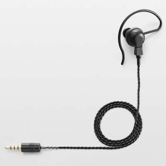 Top-selling featured ICOM hang-type earphone black SP-16PB (SP16PB)