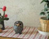 産地直送! 信楽焼 陶器製 青銅ふくろう 3.5号 (M-SA43-6)[フクロウの置物]【ギフト】【お祝い】【贈り物】【窯元直送】【合計3000以上で】【信楽焼き】