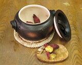 ! 万古焼(萬古焼) 石焼き芋鍋いも太郎(大) [日本製] 専用の石も追加で購入出来ます。 【調理器具】【ギフト】【お祝い】【贈り物】