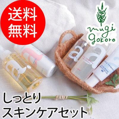アンナトゥモールクレンジングオイル・洗顔パウダー・美容液・化粧水・保湿ジェルのセットスキンケアセット
