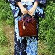 【送料無料】バンブーキンチャクMサイズ かごバッグ  ストローバッグ 竹 バンブー レディース 鞄 雑貨 エコバッグ 手提げ 婦人用 レジャー 夏 ストローバッグ アジアン 天然素材