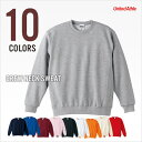 It is 02P06may13 [RCP] sweat shirt plain fabric men gap Dis crew neck sweat shirt (fleece pile) United Athle  ten colors 10.0 ounces [email service impossibility]