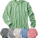 【売れてます】DALUC オーセンティックトライブレンドロングTシャツ/青/緑/赤/グレー他【dm104】【1010104】【50】