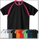 GLIMMER カラーブロックTシャツ ジュニア/白/青/緑/黒/オレンジ/紺/【1300306】