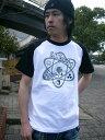 【ideal distance】ENERGY FLOW ラグランTシャツ【オリジナル】