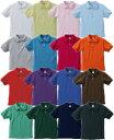 High Quality 7.6ozポロシャツ(鹿の子)16色XXLサイズ【2055421】