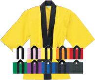 UnitedAthle ハッピ♪ 10色/白/赤/青/黒/緑/黄色/イエロー/ピンク/オレンジ/紺/紫【2008888】