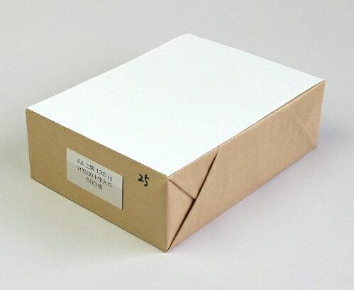 A4ミシン目加工紙4分割 国産上質135kg 【500枚】 /15時まで当日発送/土日祝日不可