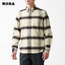 【無印良品 公式】フランネルボタンダウンシャツ 紳士