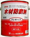 吉田製油所クレオトップ 2.5LブラウンDIY/木部用/業務用