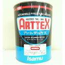イサム塗料アートテックススカーレット 3.785L車両用・金属用