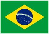 【サポーター必見】ブラジル国旗 フラッグ【サッカー/Jリーグ/応援グッズ/Brasil/Brazil/ワールドカップ】