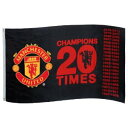 "【SALE30%OFF】マンチェスターユナイテッド 12-13シーズン優勝記念フラッグ ""CHAMPIONS 20 TIMES"" 【Manchester United/12-13/サッカー.."