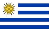 【サポーター必見】ウルグアイ国旗 フラッグ【サッカー/フォルラン/ウルグアイ代表/応援グッズ/Uruguay/ワールドカップ/World Cup】