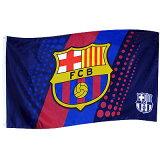 FCバルセロナ ストライプクレストフラッグ【FC BARCELONA/サッカー/スペインリーグ/メッシ/ネイマール】 ECM12