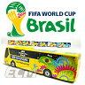 【国内未発売】FIFA ブラジルワールドカップ2014 オフィシャル商品 大会バス ミニカー(1/95)【World Cup/サッカー/MAISTO/ネイマール/メッシ/モデルカー】