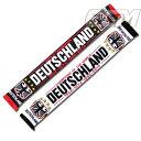 """【予約ECM19】ドイツ代表 ワールドカップ優勝 """"Deutschland Champion"""" マフラー【14-15/ワールドカップ/サッカー/スカーフ/GERMANY/ノ.."""
