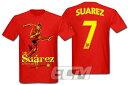【予約ECM12】ルイス・スアレス リバプール Tシャツ レッド【Liverpool/サッカー/ウルグアイ代表/Suarez】330 ENG03