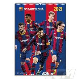 【予約ECM10】先行予約特典100円引き【国内未発売】FCバルセロナ 2021 オフィシャル A3 壁掛けカレンダー【リーガエスパニョーラ/Barcelona/メッシ/<strong>グリーズマン</strong>/サッカー】