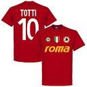 【予約RET06】エンジ10RE-TAKE ASローマ Team Tシャツ 10番 トッティ エンジ【サッカー/Roma/Totti/セリエA】ネコポス対応可能