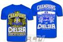 【予約ECM12】チェルシー 14-15シーズン プレミアリーグ優勝記念Tシャツ【Chelsea/アザール/モウリーニョ/サッカー】