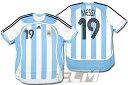 【予約ECM32】【激レア】アルゼンチン代表 ホーム 半袖 19番メッシ【2005-07/ワールドカップ/messi/ユニフォーム/サッカー】