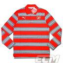 【予約ECM32】【SALE】アーセナル ボーダー長袖ポロシャツ【14-15/Arsenal/サッカー/プレミアリーグ】330