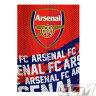 【予約ECM25】アーセナル オフィシャル フリースブランケット IP【Blanket/プレミアリーグ/サッカー/Arsenal】