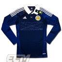 【予約SCO01】【国内未発売】スコットランド代表 ホーム 長袖 選手仕様(テックフィット)【サッカー/11-13/Scotland】0825