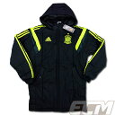 【予約ECM32】スペイン代表 パデッドジャケット ブラックx蛍光イエロー【サッカー/13-15/ワールドカップ/Spain】