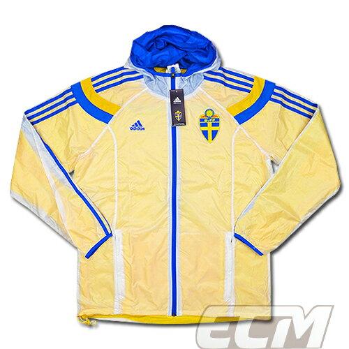 【予約ECM32】【国内未発売】スウェーデン代表 アンセムウォークアウトジャケット【14-15/Sweden/サッカー/ユニフォーム】
