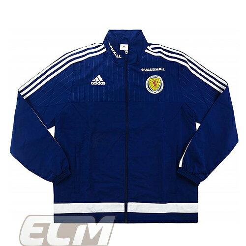 【予約SCO01】【国内未発売】スコットランド代表 選手仕様 プレゼンテーションジャケット ネイビー【サッカー/16-17/Scotland】330 ECM32