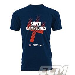 【国内未発売】アトレチコ マドリード UEFAスーパーカップ優勝 2018 記念Tシャツ