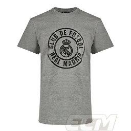 【国内未発売】SP7641レアルマドリード 公式ライセンス Tシャツ グレー【Real Madrid/サッカー/スペインリーグ/<strong>久保建英</strong>】ネコポス対応可能 PRM15