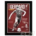 S.ジェラード リバプールレトロ 額入りフォト(PFC584)【サッカー/プレミアリーグ/Gerrard/Liverpool】FTO01