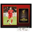 【予約FTO01】ジョーダン・ヘンダーソン リバプール 15-16 額入りフォト(PFC1953)【サッカー/プレミアリーグ/Henderson/Liverpool】