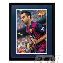 【予約FTO01】シャビ FCバルセロナ 額入りフォト(PFA518)【サッカー/スペインリーグ/Xavi/FC Barcelona】