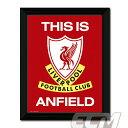 """【予約FTO01】リバプール """"This is Anfield"""" 額入りフォト(PFC173)【サッカー/プレミアリーグ/Liverpool】"""