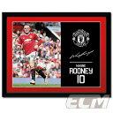 【予約FTO01】ルーニー マンチェスターUTD 15-16シーズン 額入りフォト(PFC1915)【サッカー/プレミアリーグ/Rooney/Manchester United】