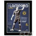 フランク・ランパード チェルシー レトロ額入りフォト(PFC632)【サッカー/プレミアリーグ/Lampard/Chelsea】FTO01