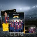 【国内未発売】MD社 FCバルセロナ 2017 ポスターカレンダー【リーガエスパニョーラ/Barcelona/メッシ/スアレス/ネイマール/サッカー】ECM10