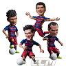FCバルセロナオフィシャルグッズTOYS ROCKA! FCバルセロナ メッシ、ネイマール、スアレス、イニエスタ フィギュア【サッカー/FC Barcelona/Messi/Suarez/Neymar/Iniesta/スペインリーグ】