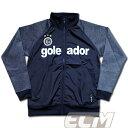 Goleador G1684 MIXジャージ ジップアップジャケット ブラック【ゴレアドール/フットサル/スウェット/サッカー】GOL2015AW